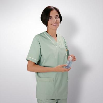 anade-chaqueta-uniforme-trabajo-pijama-sanitario-menta-blanco