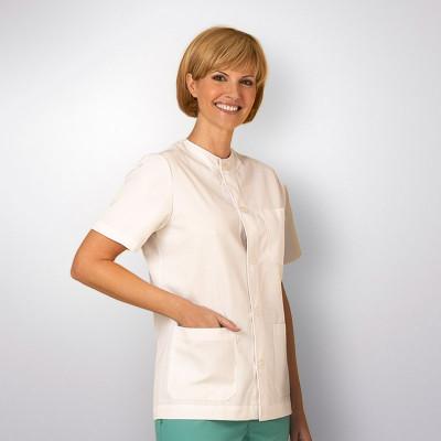 anade-chaqueta-uniforme-trabajo-sanitario-boton-blanca