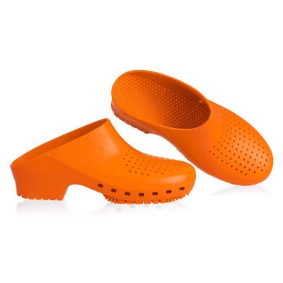 Anade-zueco-sanitario-calzuro-naranja