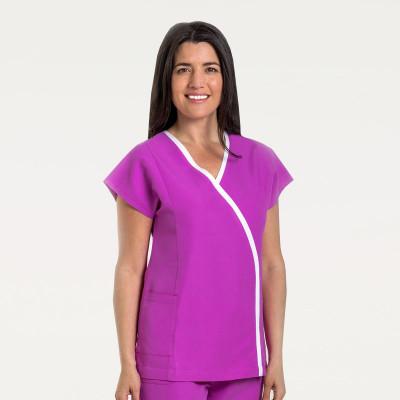 anade-chaqueta-uniforme-trabajo-estetica-microfibra-rosa-blanca