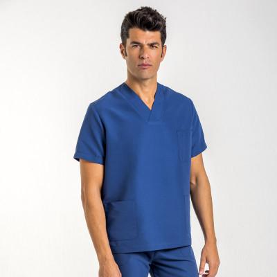 anade-chaqueta-pijama-uniforme-trabajo-sanitario-marino