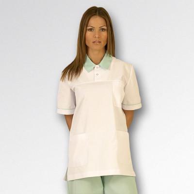 Anade-uniforme-auxiliar-enfermeria-chaqueta-blanco-verde-menta