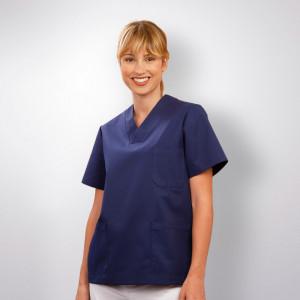 anade-chaqueta-uniforme-trabajo-pijama-sanitario-marino