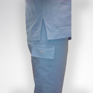 pantalon unisex bolsillo lateral