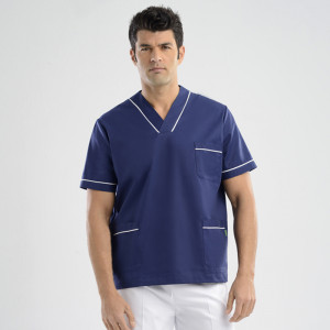 anade-chaqueta-uniforme-trabajo-sanitario-marino-blanco