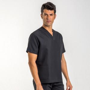 anade-chaqueta-uniforme-pijama-sanitario-negro