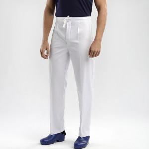 pantalón sanitario blanco cintas